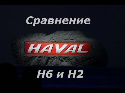 Сравнение Haval H6 и H2 - обзор в автосалоне.