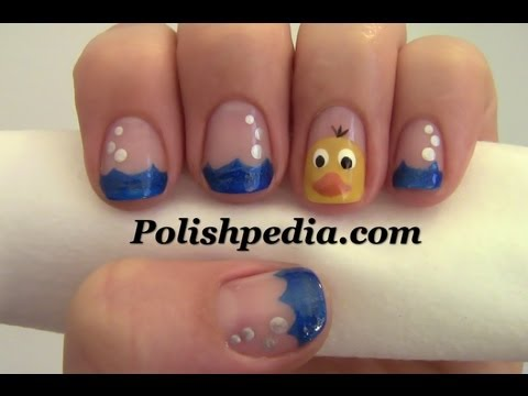 Rubber Ducky Nail Art Youtube