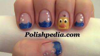 Rubber Ducky Nail Art
