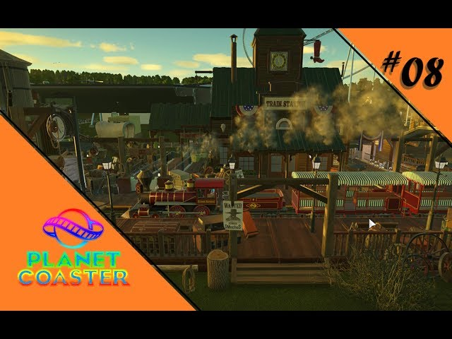 WILD WILD WEST 🎢 Let's Play Planet Coaster #08