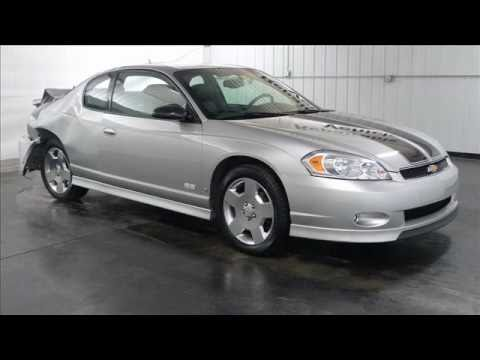 Marvelous 2007 CHEVROLET MONTE CARLO SS V8 2DR   Rebuildable/Repairable Stock #:  10110959