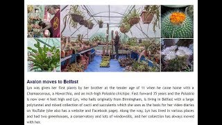 An Article about me in The British Cactus & Succulent Society's June e -Newsletter