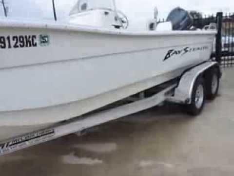 2005 Bay Boat VIP Bay Stealth SKIFF2194