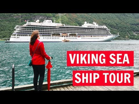 Viking Sea: Tour of decks 7 8 and 9