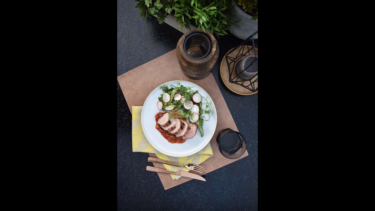 Retsept: sea sisefilee värske salatiga