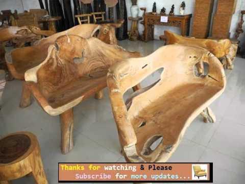 Garden Furniture Ideas | Outdoor Furniture Rustic Style Romance