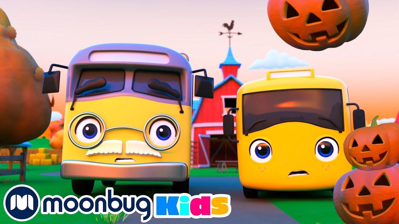The SPOOKY Pumpkin(Halloween Hero) - Go Buster! | Kids Cartoons & Nursery Rhymes | Moonbug Kids