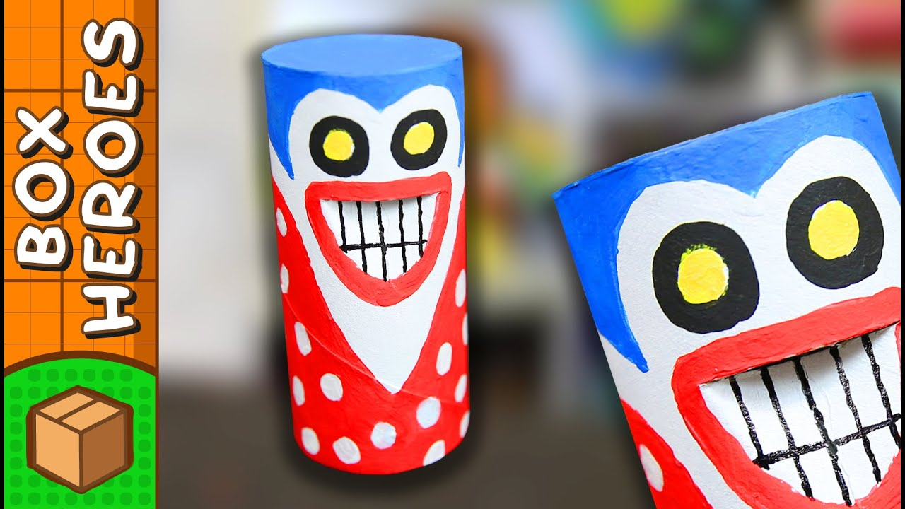 The Prankster - DIY Paper Roll Crafts | Box Heroes on Box ... - photo#3