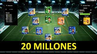 PLANTILLA DE 20 MILLONES DE MONEDAS | FIFA Ultimate Team | DjMaRiiO