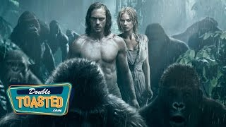 THE LEGEND OF TARZAN MOVIE REVIEW (featuring BLACK NERD COMEDY) - Double Toasted Review