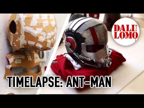 Timelapse - Make Ant-Man Helmet DIY Cosplay - 동영상