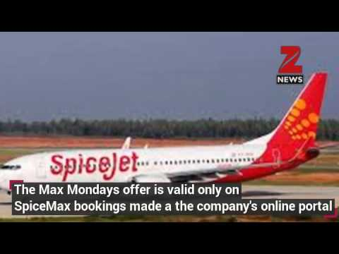 SpiceJet announces flat discount on Max Mondays offer