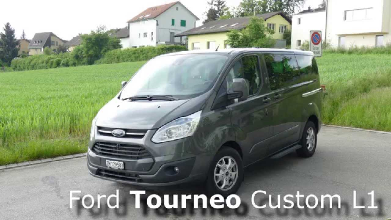 ford tourneo custom l1 titanium 2 2 tdci 155ps youtube. Black Bedroom Furniture Sets. Home Design Ideas