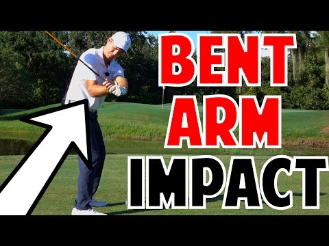 Golf Power Lesson | Bent Right Arm at Impact