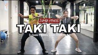 Taki Taki - Dj Snake Ft. Selena Gomez, Ozuna, Cardi B  Zumba Fitness  Choreo By Riky Chao