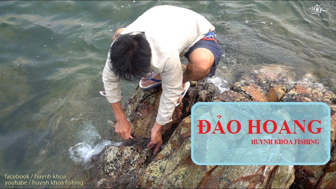 """CUỘC SỐNG TRÊN  """"ĐẢO HOANG"""" GIỮA BIỂN   HUYNH KHOA FISHING"""