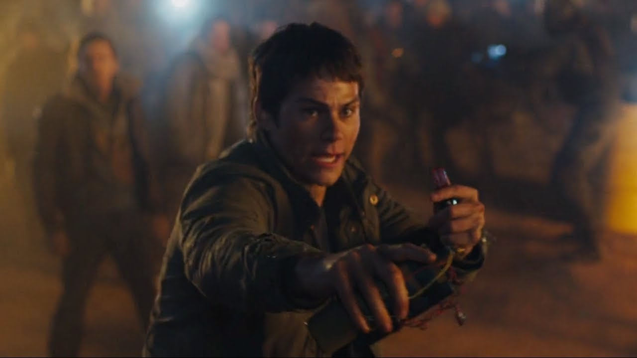 Download Thomas threatens to blow everyone up [The Scorch Trials]