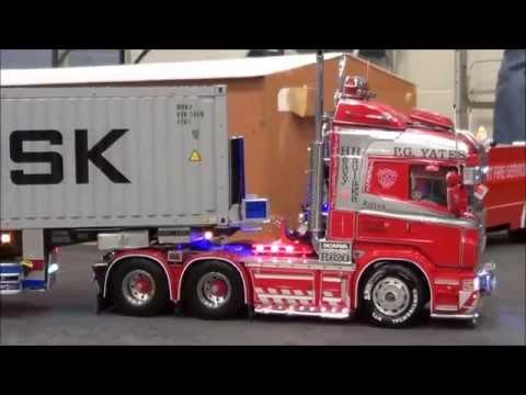 RC Trucks @ Leyland, Tamiya. Scania, Mercedes, Volvo, MAN, Scaleart, Wedico, Carson, Servonaut