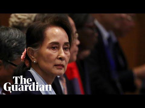 Aung San Suu Kyi denies genocide charges against Myanmar