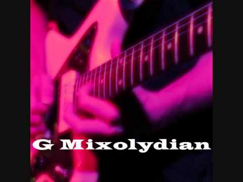G Mixolydian Backing Track - Groovin On Mode 5