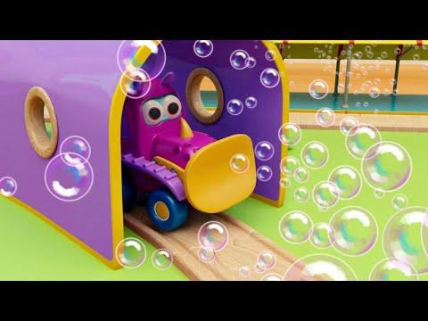 Мыльные пузыри. Мультики про машинки трансформеры Мокас