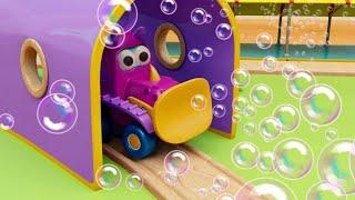 Мультики про машинки трансформеры. Мультсериал для детей Мокас. Новая серия - Мыльные пузыри