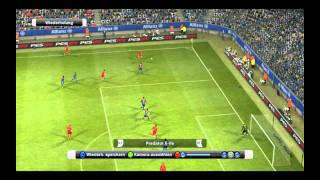 PES 2012 Gameplay [HD]-Bayern München vs FC Barcelona