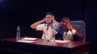 The Judges fell asleep! The Audition 16 Okpara opra minute