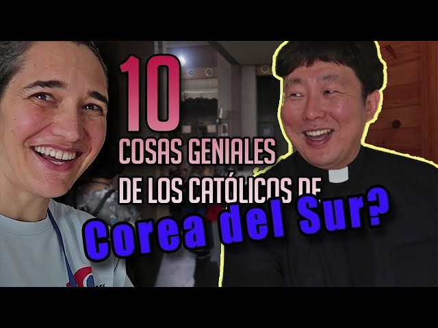 10 COSAS  GENIALES de la Iglesia católica en COREA DEL SUR