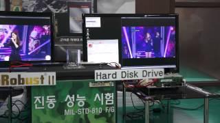 InnoDisk InnoRobust II VS HDD Vibration Testing at AK Information Communication