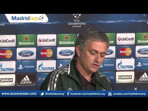 Mourinho & Essien Pregame Press Conference, Real Madrid - Manchester United (Original Audio)