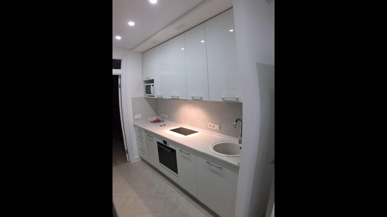 Кухня в коридоре - YouTube