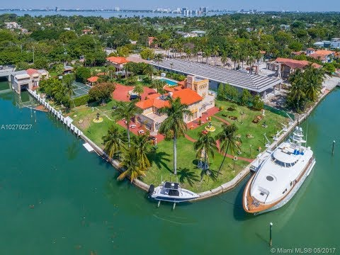 The Most Amazing Waterfront House on Pine Tree Drive Miami Beach FL