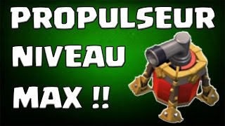 Test du propulseur d'air niveau max 6 | Conseils placement défense | Air sweeper | Clash of clans