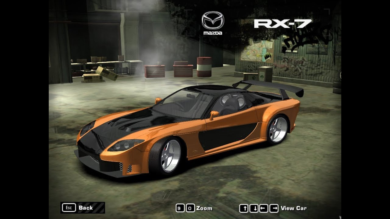 Challenging Black List 7 Using Mazda Rx7 In Nfs Most