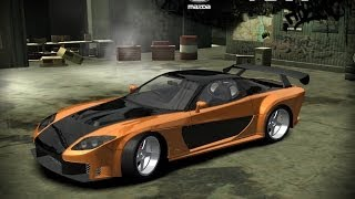Challenging Black List 7 using Mazda RX7 in NFS Most Wanted