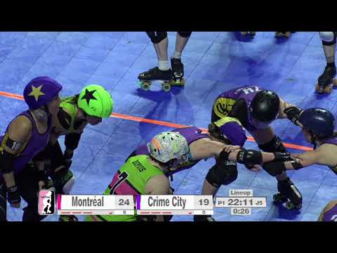 2017 International WFTDA Championships Game 1: Montréal Roll
