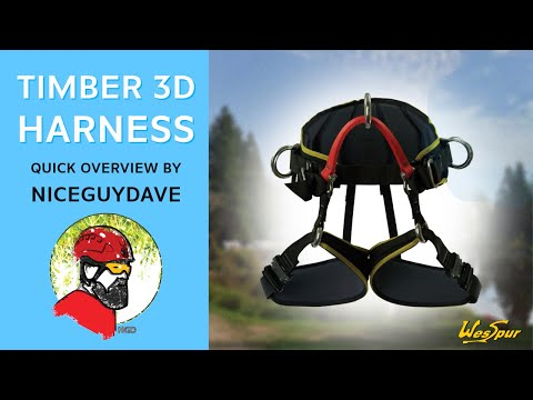 Timber 3D Tree Climbing Harness Quick Look