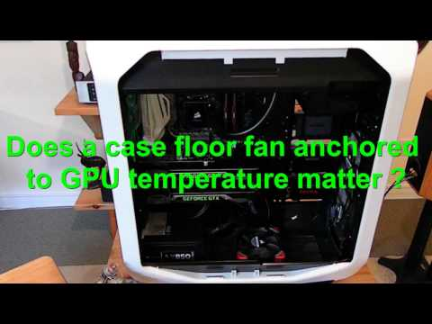 Corsair 780T Case Fan Mod with Corsair ML120 fan to improve GPU cooling