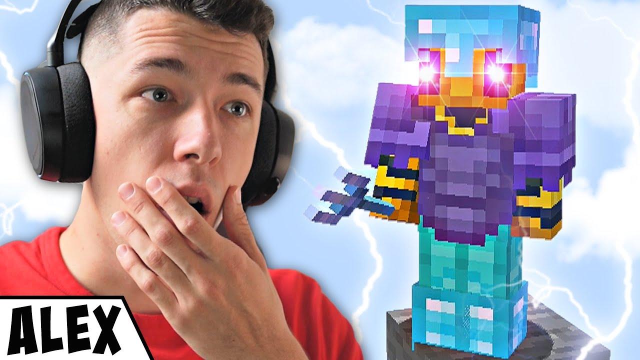 10.000 Forintos Skywars Háború a Minecraftban!