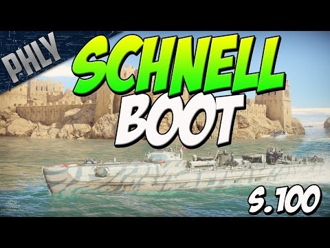 KRIEGSMARINE - SCHNELLBOOT S.100 (War Thunder Naval Forces)