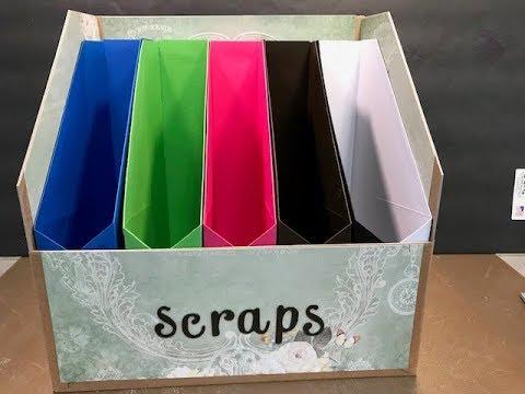 Storage Solutions #1 - Scrap Paper Storage