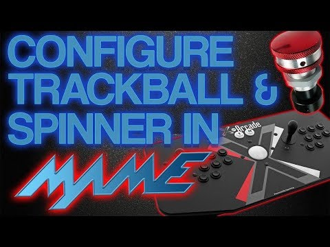 HYPERSPIN HOW TO: Configure Trackball and Spinner in MAME - PakVim