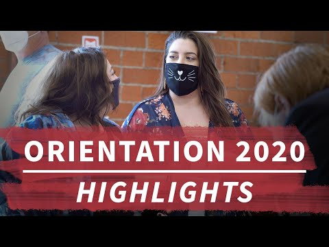 Orientation 2020: Welcome New Students!