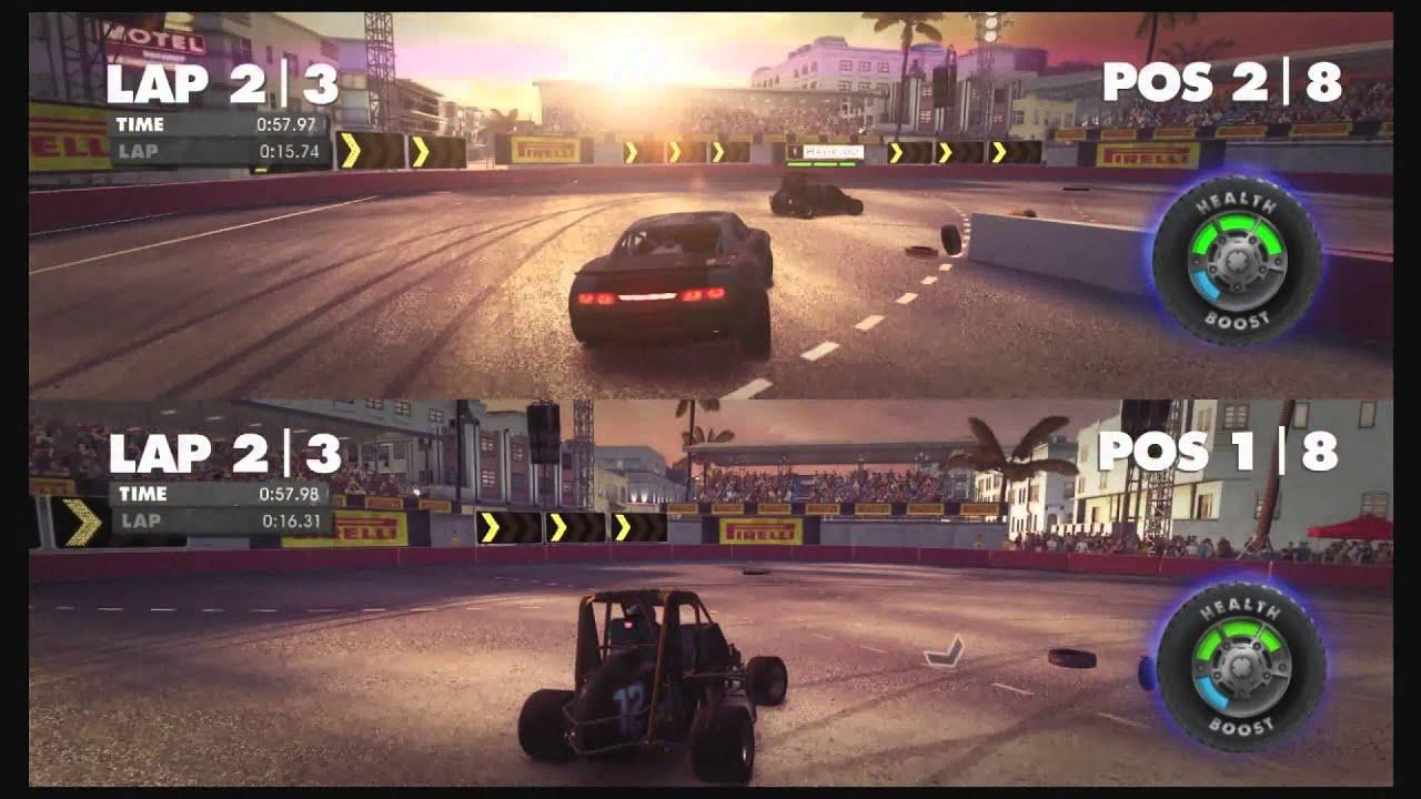 Dirt showdown pc multiplayer split screen windows 8 for Splity 3 en 1