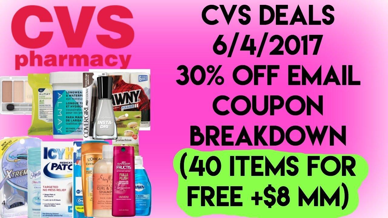 cvs deals 6  4  2017