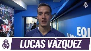 Escucha de cerca las palabras que nos dijo Lucas Vázquez