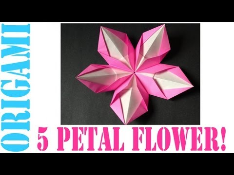 Origami daily 348 modular 5 petal flower tcgames hd youtube origami daily 348 modular 5 petal flower tcgames hd mightylinksfo