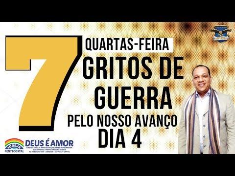 DIA 4-7: GRITOS DE GUERRA PELA NOSSA PROSPERIDADE [PASTOR IZAIAS DOS SANTOS]