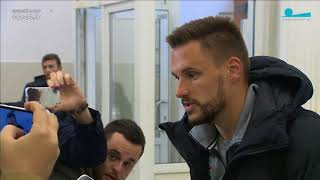 Интервью Евгения Маркова после матча Тосно - Ахмат